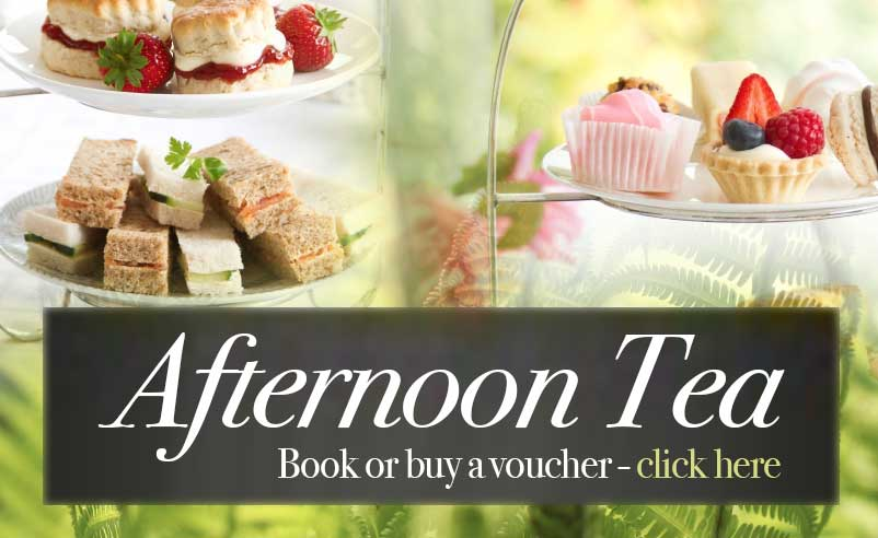 Afternoon Tea - click here to book or buy a gift voucher